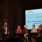 """Gesprächsrunde """"Werte, Kommunikation und Konflikte in sozalien Medien"""